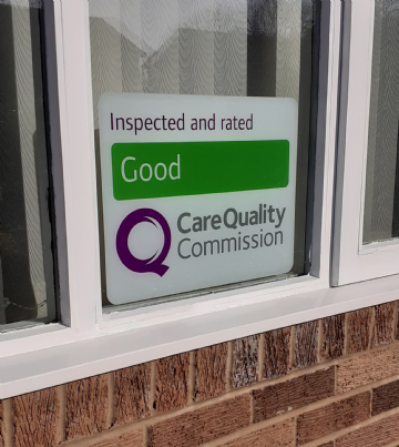CQC Window Sticker